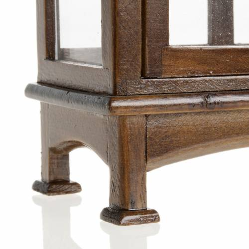 Nativity accessory, wooden cupboard s4