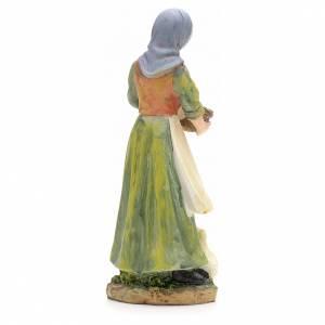 Nativity figurine, shepherdess with ducks 21cm s3