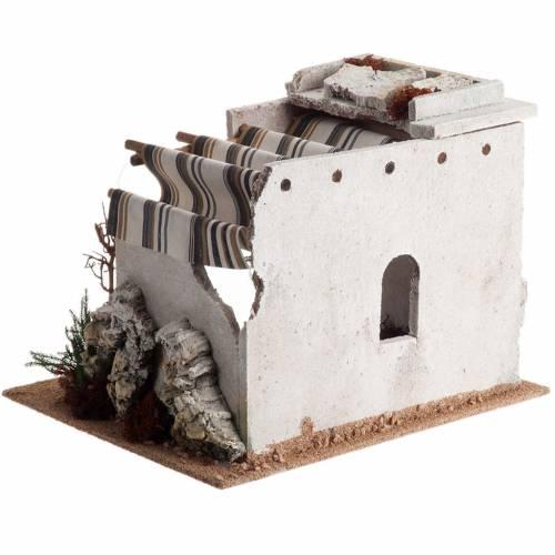 Nativity scene accessory, arabic-style hut s5