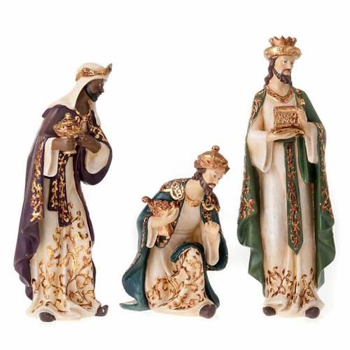 Nativity scene in resin, 33 cm s5