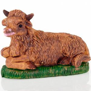 Animals for Nativity Scene: Nativity scene, Ox figurine 8cm