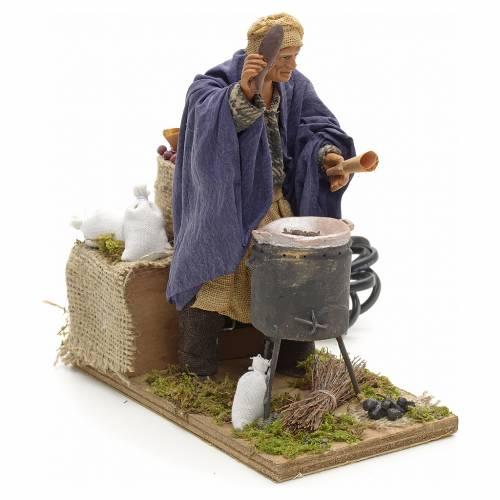 Nativity scene figurineChestnutseller 14cm figurine 2 movements s3