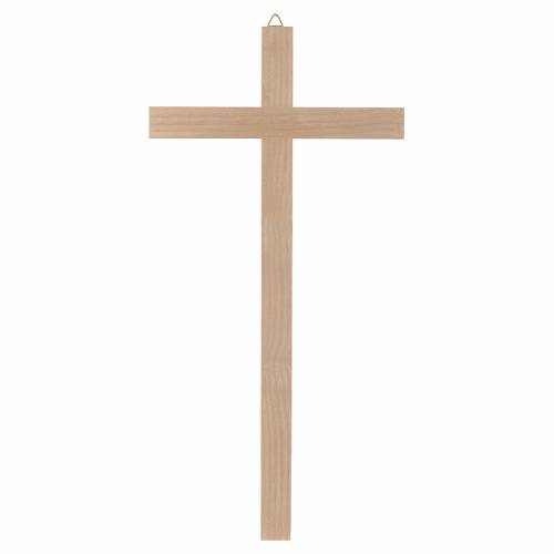 Natural wood cross s1