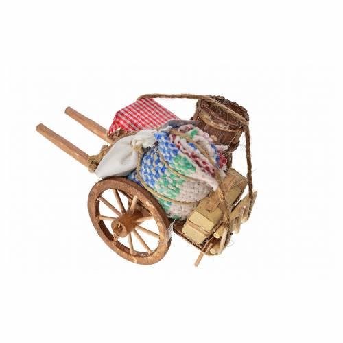 Neapolitan Nativity accessory, evicted cart 8x12x7cm s2