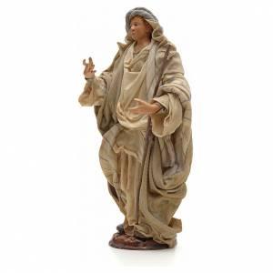 Neapolitan Nativity figurine, Arabian man with stick, 30 cm s2