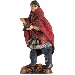 Neapolitan Nativity figurine, Beggar, 8 cm s2