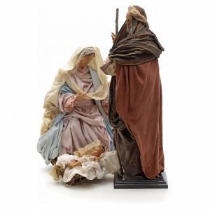 Neapolitan Nativity figurine, Joseph, Mary, baby Jesus, 45 cm s2