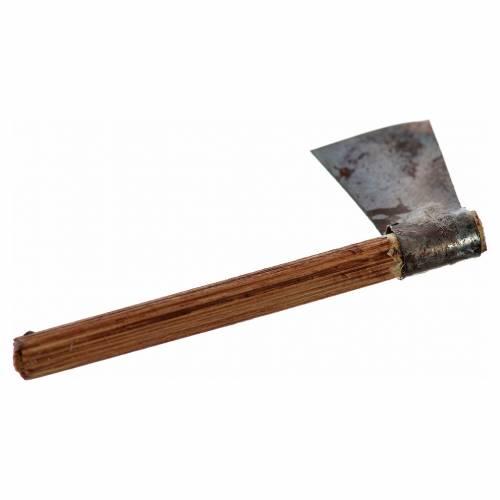 Neapolitan Nativity scene accessory, axe, 4 cm s2