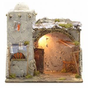 Neapolitan Nativity scene, Palestinian house s1