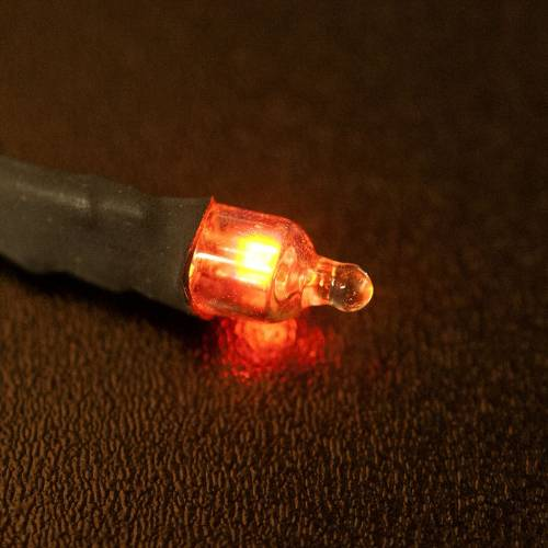 Neon red light, miniature model s2