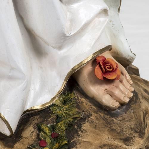 Notre Dame de Lourdes 160 cm résine Fontanini s6