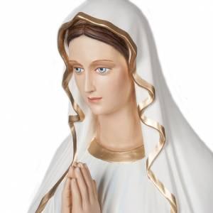Notre Dame de Lourdes statue fibre de verre 160 cm s6