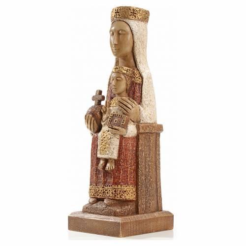 Notre Dame du Pilar 25 cm pierre peinte Bethléem s2