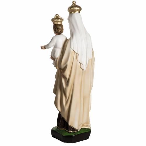 Nuestra Señora del Monte Carmelo en resina 60cm s7
