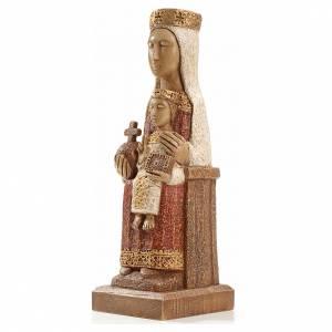 Imágenes de Piedra: Nuestra Señora del Pilar 25 cm piedra colorada bethleem