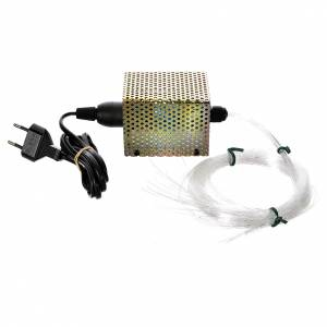 Control units and accessories for Nativity Scene: Optical fiber stars, 50 wires 25W 220V
