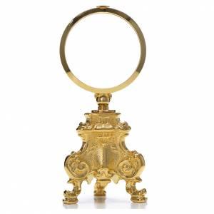Ostensoirs, Reliquaires  en métal: Ostensoir exposition hostie eucharistique