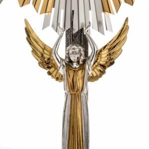 Ostensoirs, Reliquaires  en métal: Ostensoir hostie, célébration, décor anges