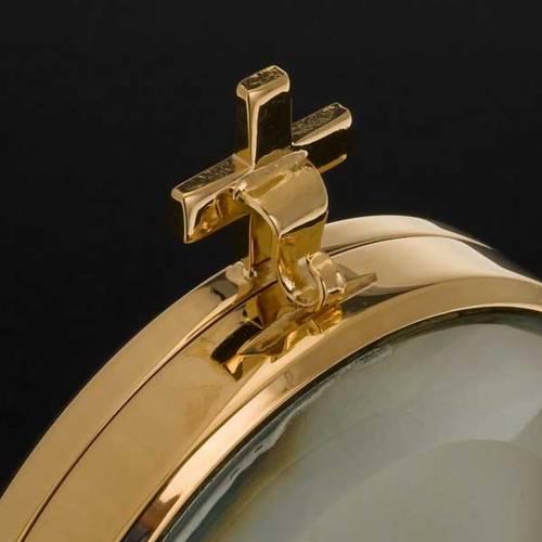 Ostensoir laiton lys diam. 8.5 cm s6