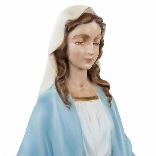 Our Lady Immaculate, reconstituted marble statue, 40 cm s2