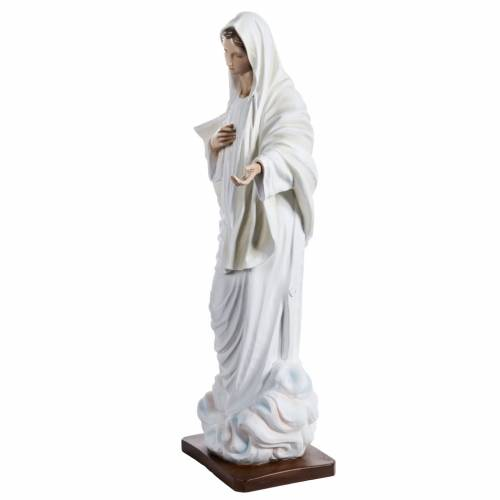 Our Lady of Medjugorje statue in painted fiberglass, 130cm s4