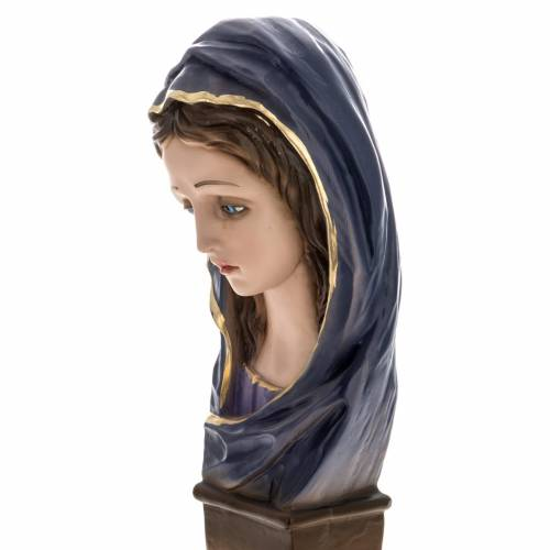 Our Lady of Sorrows statue in plaster, 30 cm s3