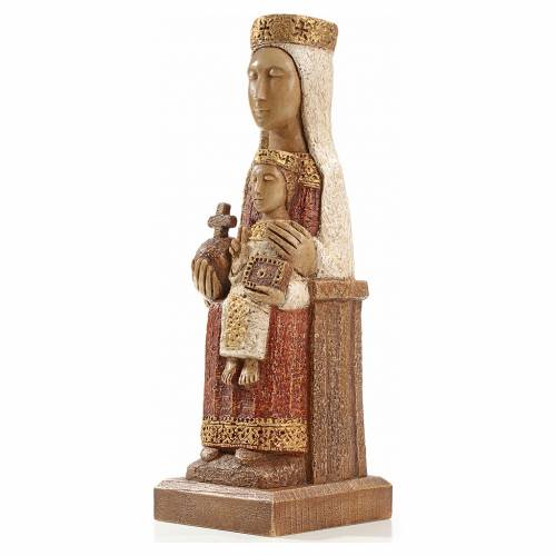 Our Lady of the Pillar stone statue 25 cm, Bethlehem Nuns s2