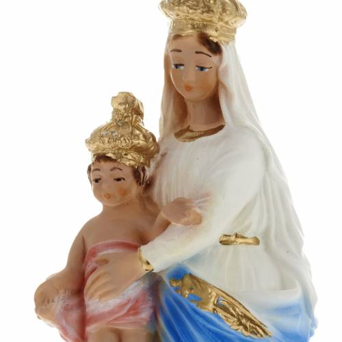 Our Lady of Victory statue in plaster,  20 cm s2