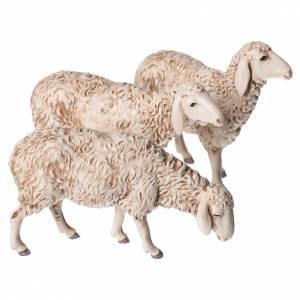 Ovejas, cabra y perro 6 figuras 13 cm Moranduzzo s2