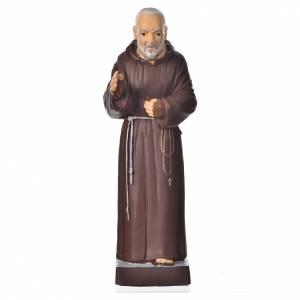 Padre Pío 20cm, material irrompible s1