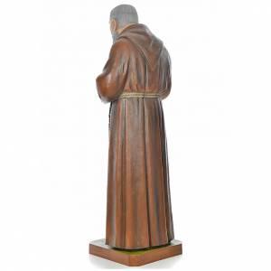 Padre Pio of Pietralcina statue in painted fiberglass 175cm s3