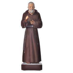 Holy Statues in resin & PVC: Padre Pio statue 30cm, unbreakable material