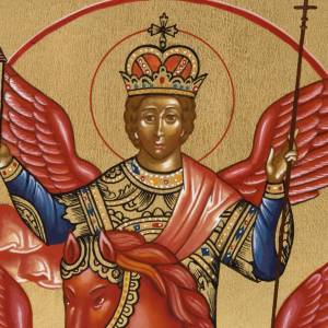 Russian hand-painted icons: Painted icon,