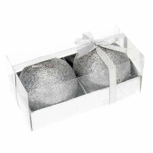 Pareja velas navideñas glitter 3