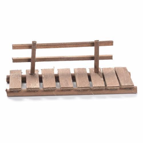 Passerella presepe in legno cm 5x15x5 s1