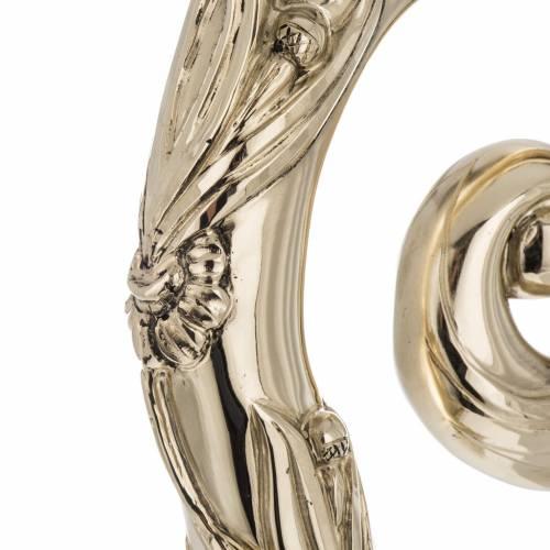 Pastorale in argento 966/1000 e metallo mod. dorato s6