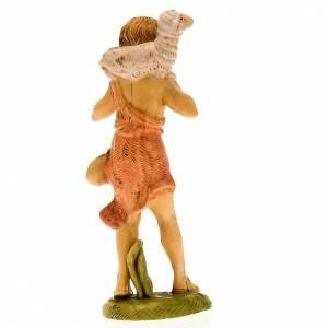 Pastore con pecora in spalla 18 cm s3