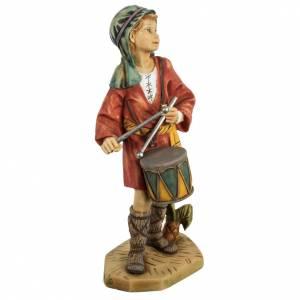 Statue per presepi: Pastore con tamburo 52 cm presepe Fontanini