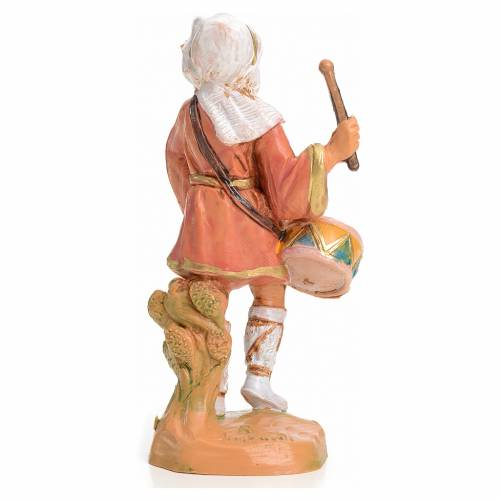 Pastore con tamburo 9,5 cm Fontanini s2