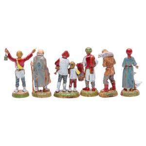 Pastori assortiti presepe 6 cm Moranduzzo s2