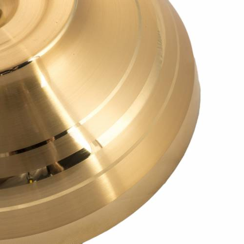 Paten, gold plated with polished finish, burnished 16cm s3