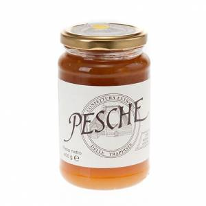 Peaches jam extra 400 gr - Vitorchiano Trappists s1