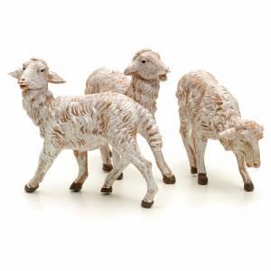 Pecore presepe 19 cm Fontanini 3 pz s2