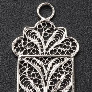 Pectoral Cross made of silver filigree s5