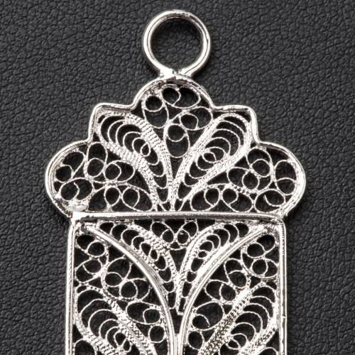 Pectoral Cross made of silver filigree 5