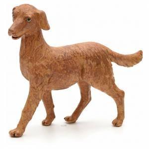 Animales para el pesebre: Perro de pie 30 cm Fontanini