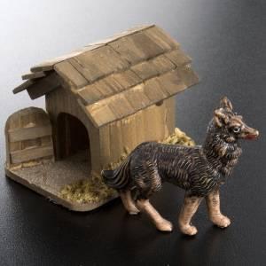 Zwierzęta do szopki: Pies pilnujący do szopki 10 cm