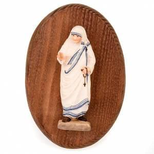 Bassorilievi vari: Placca con statua di Madre Teresa