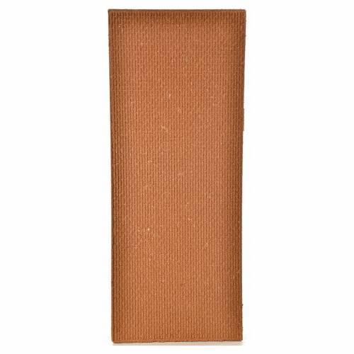 Plancha corcho muro ladrillos pequeños 100x40x1 s2