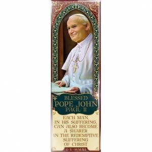 Magnets religieux: Planche de Jean-Paul II - eng. 03